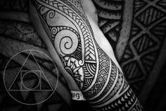 Nordic polysleeve tattoo