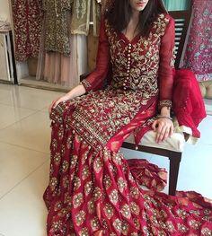 Buy comfort womens dresses and skirts in Pakistan at Oshi. Book Online womens dresses and skirts in Karachi, Lahore, Islamabad, Peshawar and All across Pakistan. Pakistani Wedding Outfits, Bridal Outfits, Pakistani Dresses, Indian Dresses, Bridal Gowns, Indian Outfits, Red Lehenga, Lehenga Choli, Ethnic Fashion