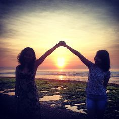 Friends for Life Sunsets, Bali, Best Friends, Yoga, Outdoor, Life, Instagram, Beat Friends, Outdoors