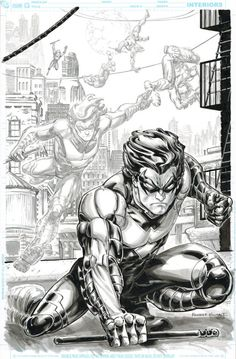 Nightwing by Freddie Williams II