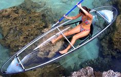 Somewhere tropical with crystal clear water and a see thru canoe with someone special :)