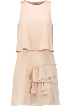 Shop on-sale Tibi Sophia layered pleated silk crepe de chine mini dress. Browse other discount designer Dresses & more on The Most Fashionable Fashion Outlet, THE OUTNET.COM
