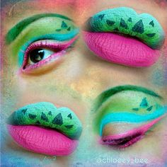 Glam Bulbasaur  Pokémon fantasy makeup collab!! Eyes by @chloeey_bee y_bee Lipart by me  I was so excited to work with @chloeey_bee on this, I love her page, her makeup looks are stunning and she is gorgeous. Please head over and check out her page for her post and product list, and of course follow her  This is part 3 of our PokèArt series, please check out the previous posts   Makeup used: @colourpopcosmetics - Dr. M @mjlcosmetics - A-List  @jeffreestarcosmetics - Breakfast at Tif...