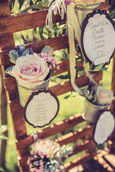 Rustic Wooden Wedding Table Plan Used At Italian Wedding - table plan available from www.theweddingofmydreams.co.uk