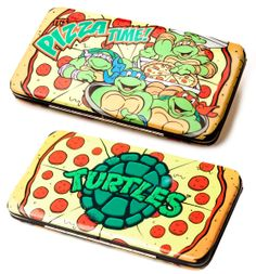 Teenage Mutant Ninja Turtles Pizza Time Wallet - Only £14!!