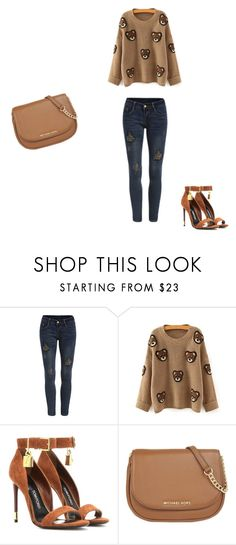 """""""Untitled #50"""" by tika-lekic ❤ liked on Polyvore featuring Tom Ford, MICHAEL Michael Kors, women's clothing, women's fashion, women, female, woman, misses and juniors"""