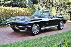 1964 Chevrolet Corvette Roadster Convertible Matching Number 327 4sp