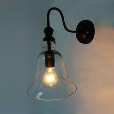 Ecopower Vintage Wall Mount Lighting 1 Light Glass Bell Shade Wall Sconce Ecopower Lighting http://www.amazon.com/dp/B00JKG78MS/ref=cm_sw_r_pi_dp_hSOTtb0C8J6Q9901