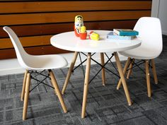 The Belle Kids Table And Chair Set Is A Mocka Replica Of The Eames DSW Table  And Chairs. The Perfect Kids Table U0026 Chairs For Toddlers!
