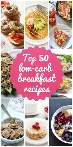 Top 50 Low-Carb Breakfast Recipes to Try | www.lowcarblab.co... #breakfast #recipes #brunch #easy #recipe