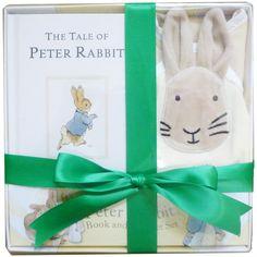 Peter Rabbit Book & Blanket Boxed Set - Unique Baby and Kids Gifts New Baby Gifts, Kids Gifts, Peter Rabbit Books, Sibling Gifts, Security Blanket, 1st Birthdays, Beatrix Potter, Unique Baby
