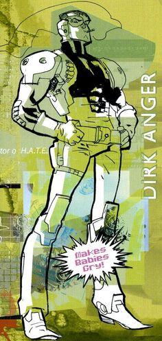 Next Wave - Dirk Anger by Stuart Immonen *
