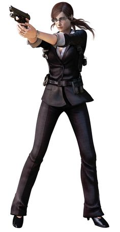 BUSINESS CLAIRE REDFIELD IS SO PERFECT OH MY GOFBSOSB