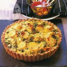 Chillied Potato And Leek Quiche Recipe on Yummly Leek Quiche, Famous Recipe, Savory Tart, Sweet Pie, Quiche Recipes, Happy Foods, Allrecipes, I Foods, Love Food