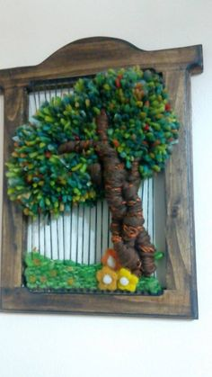 Tapestry Weaving, Loom Weaving, Thread Art, Weaving Projects, Fabric Dolls, Wind Chimes, Fiber Art, Farmhouse Decor, Projects To Try