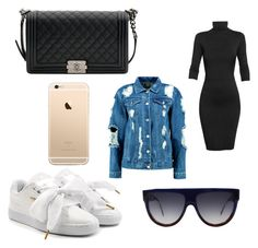 """""""omg"""" by loversin on Polyvore featuring Puma, Undress, Chanel, Boohoo, CÉLINE and toutmoi"""