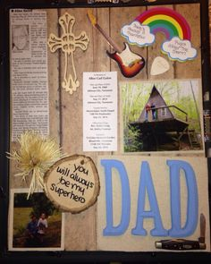 Shadow box ideas like military shadow box ideas, diy shadow box ideas, shadow box frame ideas, newbron shadow box, and etc Shadow Box Memory, Diy Shadow Box, Remembering Dad, Christmas Shadow Boxes, Heritage Scrapbooking, In Memory Of Dad, Diy Frame, Box Frames, Holiday Crafts