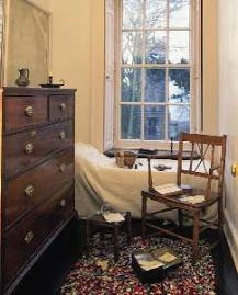 Child's room in the home of the Bronte sisters
