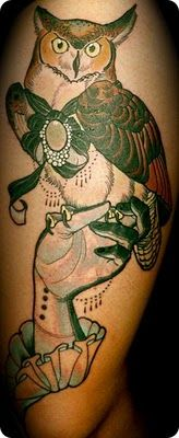 Tattoo by Jurgen Eckel