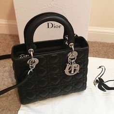 6021c7541a34 Designer First ClassさんはInstagramを利用しています 「Mini Lady Dior