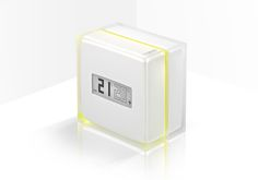 netatmo smartphone controlled thermostat by philippe starck