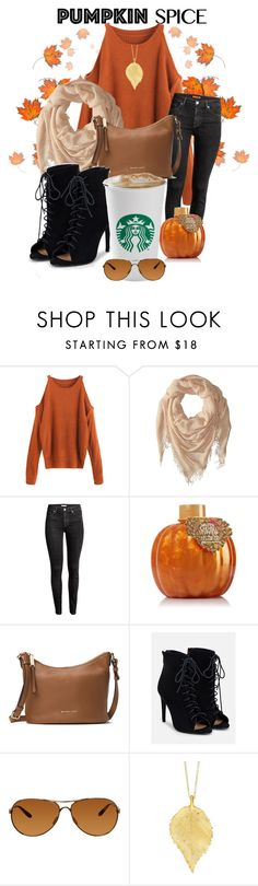 """Pumpkin Spice"" by classicgemini ❤ liked on Polyvore featuring Chan Luu, MICHAEL Michael Kors, JustFab, Oakley and Chupi"