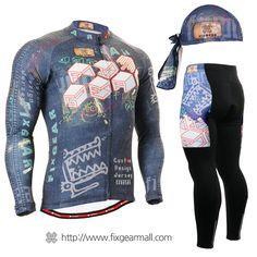 #FIXGEAR Men's #Cycling #Jersey & #Pants Set, model no CS-1501-SET, #Unique Design and Advanced Performance Fabric. ( #AeroFIX ) #MTB #Roadbike #Bicycle #Downhill #Bike #Extreme #Sportswear