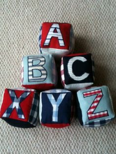6 - Alphabet & Number Blocks  #kollabora