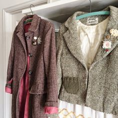dottie angel: my thrifted winter coats ...