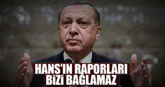 """Cumhurbaşkanı Erdoğan, döviz kuru üzerinden ekonomiye darbe vurulmaya çalışıldığını tekrar ederken, AB ve yabancı kuruluşların raporlarına tepki gösterdi. Erdoğan, """"Hans'ın hazırladığı raporlar bizi bağlamaz"""" dedi"""