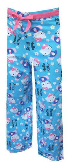 559a99609 Hello Kitty In The Garden Capri Lounge Pants So sweet! These 100% cotton  capri