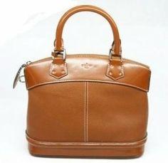 Louis Vuitton Handbags, Best Louis Vuitton Suhali Lockit Pm - Light Coffee-$301