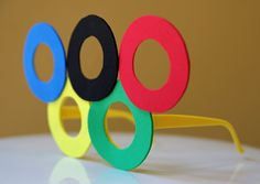 Life in Wonderland: DIY Olympic Eyeglasses