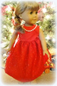 All Things With Purpose: Basic Dress Pattern for American Girl Dolls