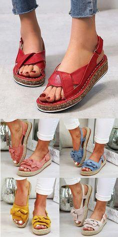 Womens Fashion Online, Latest Fashion For Women, Comfortable Sandals, Women's Casual, Shoes Women, Women's Shoes, Espadrilles, Slippers, Footwear