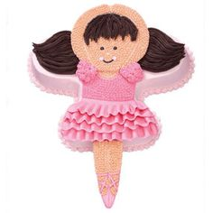 Find the best cake decoration and cake ideas. Step-by-step instructions help bring your cake ideas to life with detailed photos and tips from the Wilton cake decorating room. Ballet Cakes, Ballerina Cakes, Wilton Cake Decorating, Wilton Cakes, Minnie Mouse, Baking, Disney Characters, Birthday, Food