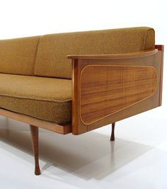 Mid century Danish teak couch