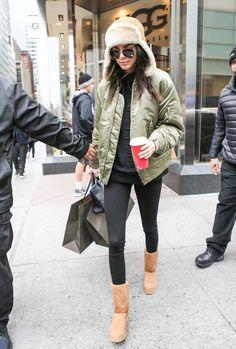 Aprende a combinar tus #botas UGG en #invierno como toda una fashionista