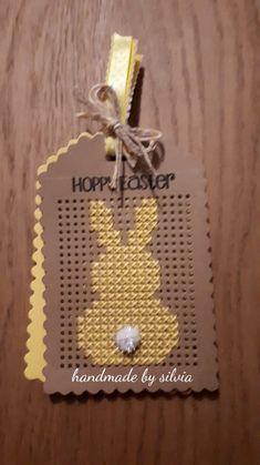 Stitching On Paper, Cross Stitching, Cross Stitch Embroidery, Cross Stitch Patterns, Tiny Cross Stitch, Cross Stitch Boards, Sewing Cards, Cardmaking And Papercraft, Easter Cross