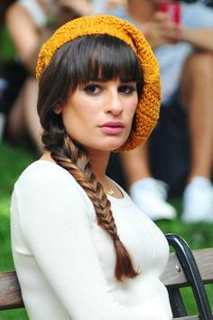 Serious Hair Envy Alert: Check Out Lea Michele's 3 Perfect On-Set Hairstyles