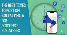 #Revalsys #CreatingPossibilities #Ecommerce #SocialMediaMarketing Our latest blog post: The Best Times To Post On Social Media For Ecommerce Businesses Best Time To Post, Corporate Presentation, Social Media Marketing, Ecommerce, Good Things, Business, Store, E Commerce, Business Illustration