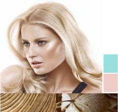 Песочный цвет волос. Песочная блондинка