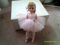 Madame Alexander Ballerina Doll by Rocky1975 on Etsy, $70.00 This is the doll I had