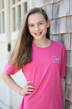 Every girl should have a preppy pink cotton short sleeve spring summer Southern Girl Prep tshirt!
