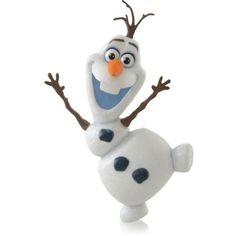 Hallmark-2014-Keepsake-OLAF-FROZEN-Disney-Xmas-Tree-Ornament-MIB-On-Hand-Snowman