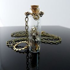 Steampunk vial