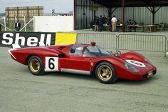 24 heures du Mans 1970 - Ferrari 512S #6- Pilotes : Ignazio Giunti / Nino Vaccarella - Abandon