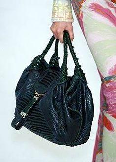 Fendi Spring 2005 Spy green handbag