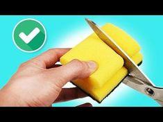 8 Geniale LifeHacks mit Schwämmen! - YouTube
