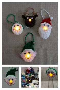 Easy Crochet Patterns Lighted Ornament Free Crochet Pattern - Scrambling for last-minute Christmas gifts? Here are 10 Fast and Easy Christmas Crochet Free Patterns to save money. Crochet Christmas Ornaments, Christmas Knitting, Crochet Snowflakes, Christmas Angels, Free Christmas Crochet Patterns, Crochet Ornament Patterns, Crochet Gifts, Free Crochet, Easy Crochet